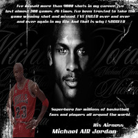 His airness michael jordan by q unit